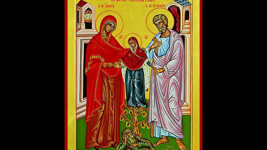 Οι Άγιοι Θεοπάτορες