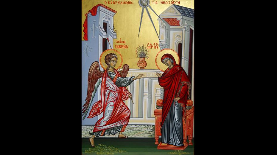 Zekios071-03Ο Ευαγγελισμός της Θεοτόκου